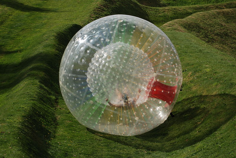 Zorb death video photo