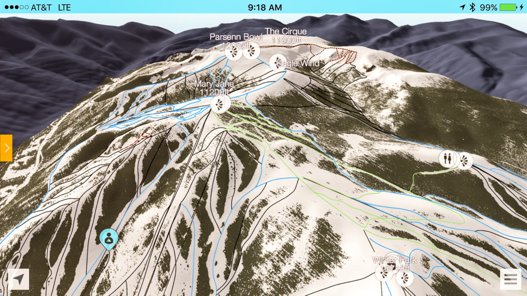 Ski apps fatmap screenshot