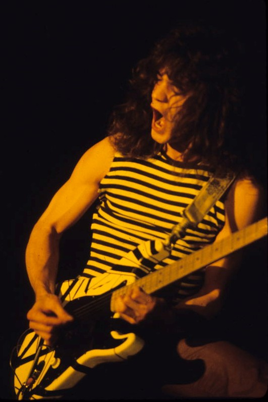 shred the gnar meaning eddie van halen