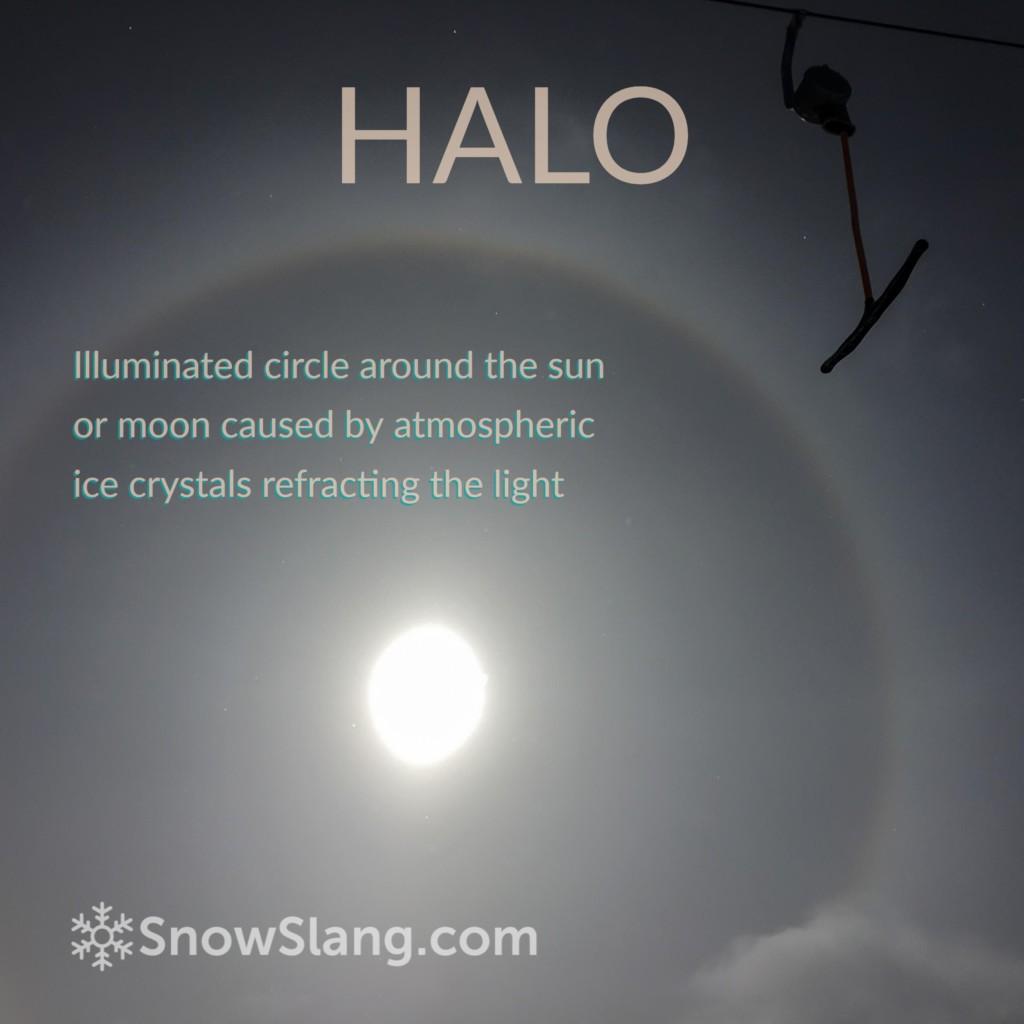 alpenglow halo photo 4