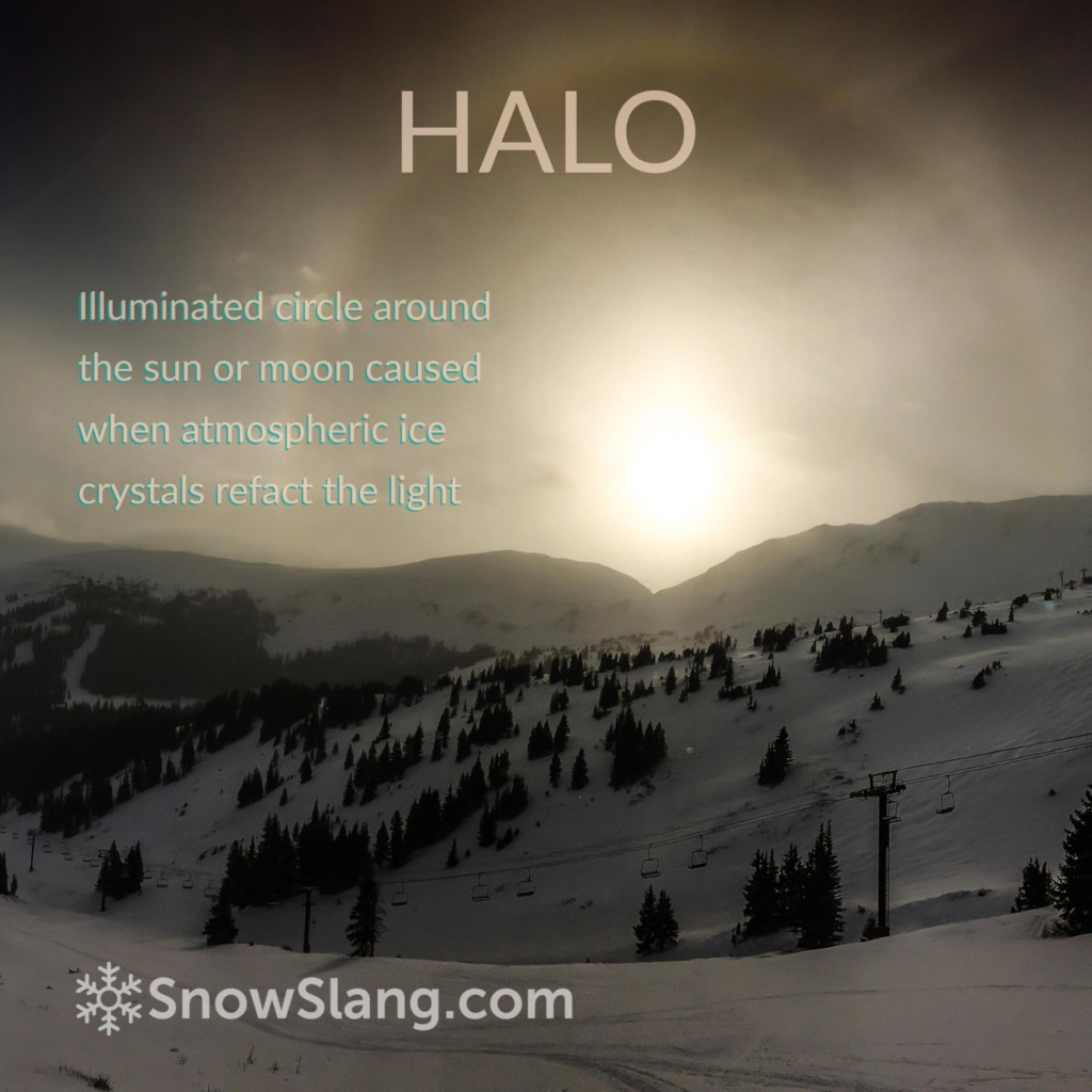 alpenglow halo photo 3